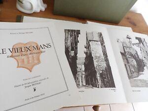 Le Vieux Mans - Bouton avec 80 lithographies originales - edition limitée numéro