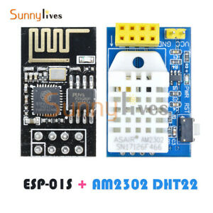 ESP8266 ESP-01/01S AM2302 DHT22 Temperature Humidity Sensor Wifi Wireless Module