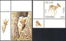 Namibia 1999 Dik-dik/Squirrel/Deer/Animals/Nature/Wildlife 2v set +lbl (n16614a)