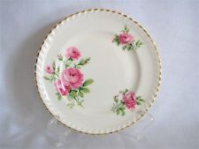 Johnson Brothers Old English Miniver Rose Bread Plate Gold Trim Multiple Avail.
