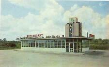 NORFOLK VA Jay's Restaurant Curb Service Routes 13 & 60 postcard