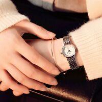 Women Ladies Wrist Gift Stainless Steel Watches Watch Quartz