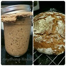 Dried traditional 100% RYE Sourdough Bread Starter Priobiotic Yeast Bacteria
