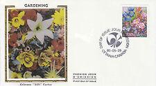 Canada FDC Sc # 855 Gardening with Colorano Silk  cachet- WW 7296