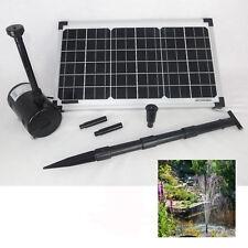 Pompe solanti per laghetti e fontane da giardino ebay for Pompa filtro laghetto solare