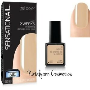 Nailene SENSATIONAIL uv gel nail polish 2 weeks wear -La Creme-  FREE P&P