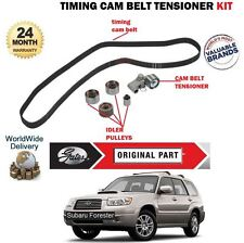 FOR SUBARU FORESTER 2.0 2.5 TURBO 4x4 2002-> NEW TIMING CAM BELT TENSIONER KIT