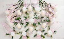 25-tlg. Tischdekoration rosa zur Hochzeit Tischdeko TD0061 (1)