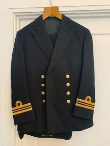 Gieves and Hawkes Royal Navy Number 1 Uniform 38 Chest 32 Waist 30 Inside Leg