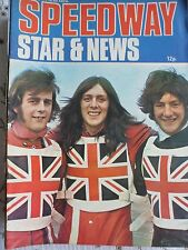 Speedway Star and News 12th August 1972