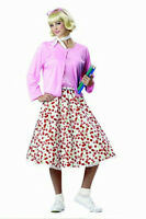 California Costumes Women's Retro 50's Sweetheart Adult Costume Size Medium 8-10