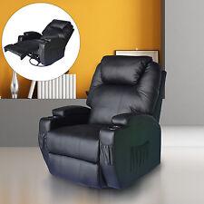 Massagesessel Fernsehsessel Relaxsessel TV Sessel Massage + Heizfunktion Schwarz