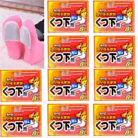 20pcs Foot Warmer Lasting Heat Sticker Patch Winter Keep Body Warm Paste Pads