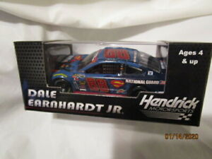 2014 Dale Earnhardt Jr C7Pics #88 National Guard Superman 1:64 Gold Series