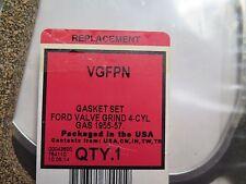 Gasket Set VGFPN Ford Valve Grind 4 cylinder Gas 1955-1957 NOS (36-D)