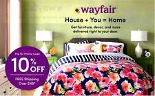 WAYFAIR 10% Off Purchase Expires March 31, 2020  First Time Shoppers Only