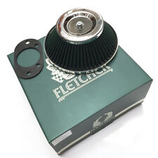 "FLETCHER CLASSIC ROVER AUSTIN MINI 1.75"" HIF44 SU CARB CONE AIR FILTER Y3500"