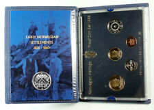 NORWAY 1999 HERITAGE Proof Set Including Silver Medal