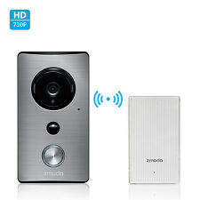 Zmodo WiFi Extender W/ 720p Wireless IR Audio Weatherproof Smart Doorbell