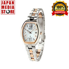 Seiko Lukia SSQW028 Solar Atomic Radio Titanium Ladies Watch 100% GENUINE JAPAN
