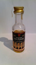 Miniature Mignon SEAGRAM'S 100PIPERS Scotch Whisky Product Scotland cc 28  43%v