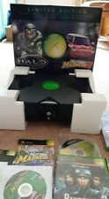 Microsoft XBox Games Console with controllers and Games bundle Halo Boxed