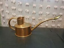 Vintage, Genuine Haws Small Solid Copper Indoor Watering Can WITH ROSE,