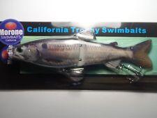 Morone Swimbaits American Shad 7 Inch Glide Bait Herring swimbait striper bass