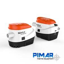SEAFLO SFBP1-G750-06 Pompa di Sentina Automatica 2558L/h - Bianca/Arancione