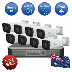 HD 4MP 16 Channel Security CCTV POE IP Camera System with FREE 4TB HDD-Kit10