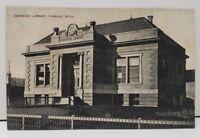 Hibbing Minnesota Carnegie Library Postcard