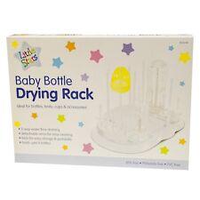BABY BOTTLE DRYING RACK - - - - Dryer Feeding Drinking Teats Covers Lids bottles