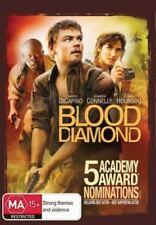 Blood Diamond DVD T0P 250 MOVIE Leonardo DiCaprio Jennifer Connely BRAND NEW R4