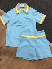 vintage russell athletic 50s Womens Basketball Uniform Sample Rare Nylon Usa Gam