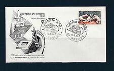 enveloppe 1er jour   journée du timbre  Moulins      1966
