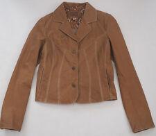 WILSONS LEATHER Light Brown Blazer Jacket - Sz Small