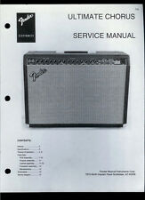 Copy Fender Ultimate Chorus Guitar Amplifier Parts List & Schematic(s)