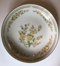 """Montgomery Ward """"Rose Garden"""" Fine China Soup Bowl Made In Japan - Antique"""