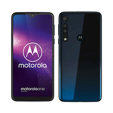 "New listing Open Box Motorola One Macro 64Gb 4Gb Ram (Factory Unlocked) 6.2""(Space Blue)"