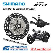New Shimano XTR M9100 12 Speed Drivetrain 4 pcs Groupset 45T 51T (OE)