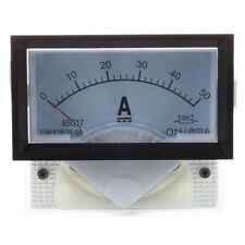 30A DC Analogue Ammeter 30 Amp Ampere Panel Meter w// INBUILT INTERNAL SHUNT