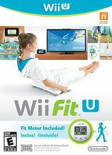 Nintendo Wii Fit U w/Fit Meter Wii U Game For Wii Balance Board Accessory Fitnes