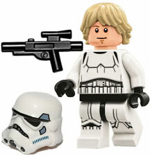 LEGO STAR WARS MINFIGURE LUKE SKYWALKER STORMTROOPER WAVY HAIR DEATH STAR 75159