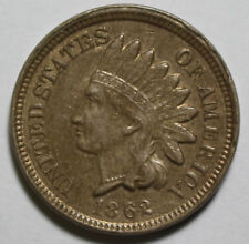 1862 Indian Head Cent ZX34
