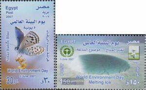 Ägypten 2335-2336 (kompl.Ausg.) postfrisch 2007 Tag der Umwelt