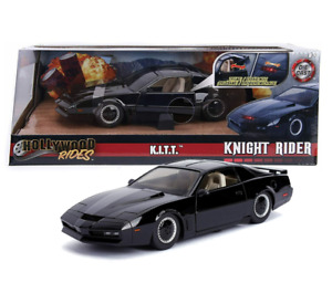 NEW - Jada Knight Rider K.I.T.T Die Cast Vehicle with Scanner Light - 1:24 scale