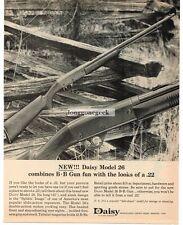1964 Daisy BB Gun Model 26 Vintage Print Ad