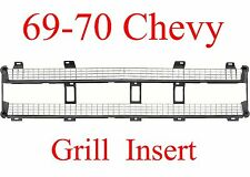 69 70 Chevy Truck Grill Insert, New In Box, High Quality GMK414305069, 897-99