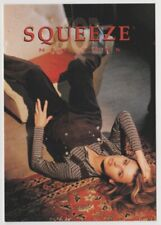 SQUEEZE New York Clothing Tower Records 1997 Go Card Rack Vintage Postcard