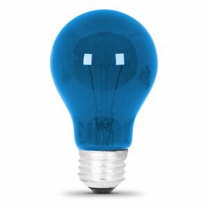 25 Watt Transparent Blue A19 Party Light(24pack)